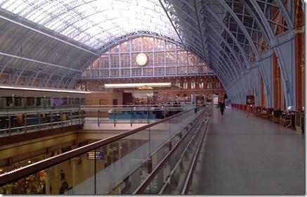 St Pancras International Station